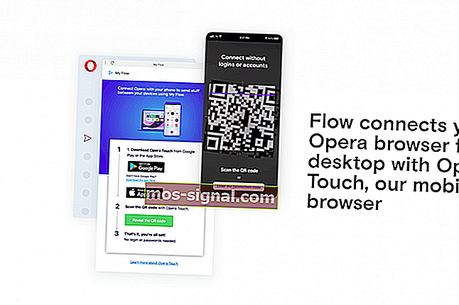 Opera Browser Flow